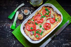 Запеканка из кабачков с фаршем и помидором - фото шаг 7