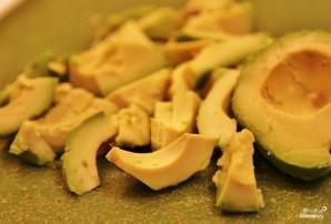 Салат из авокадо с беконом - фото шаг 6