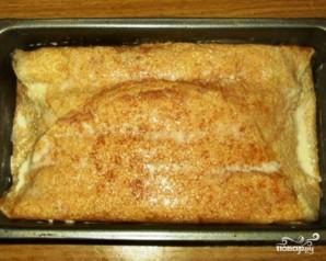 Блинный пирог с творожной начинкой - фото шаг 5