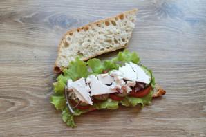 Греческий сэндвич - фото шаг 7