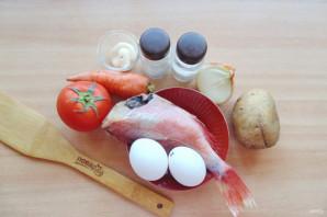 Салат из морского окуня - фото шаг 1