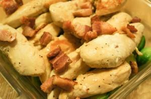 Запеченная курица в сливочном соусе - фото шаг 4