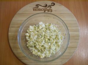 Лаваш с рисом и яйцом - фото шаг 6