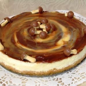 Сливочный тарт с карамелью - фото шаг 10