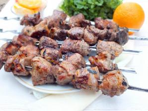 Шашлык из свинины в цитрусовом маринаде - фото шаг 11