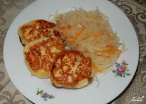 Картофельные зразы с квашеной капустой - фото шаг 7