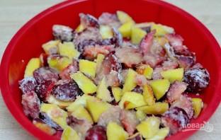 Закрытый фруктовый пирог - фото шаг 3