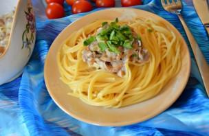 Спагетти с грибным соусом - фото шаг 4
