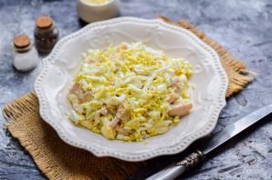 Салат с курицей и плавленным сыром - фото шаг 4
