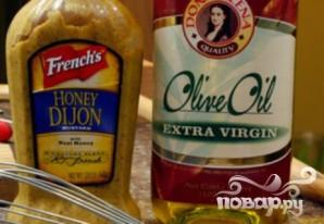Куриный салат с сырным соусом - фото шаг 4