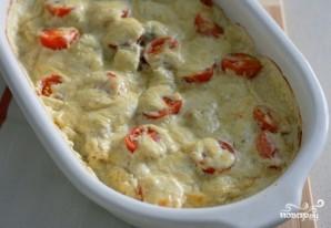 Треска, запеченная в духовке с сыром - фото шаг 9