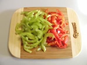 Закуска из баклажана с овощами - фото шаг 3