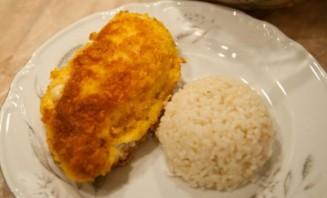 Куриная грудка, фаршированная сыром - фото шаг 8