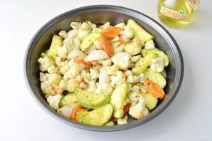 Салат с жареными овощами и гранатом - фото шаг 3