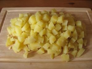Салат из ставриды горячего копчения - фото шаг 6