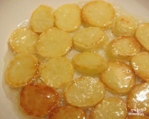 Картофель с грибами и мясом - фото шаг 2