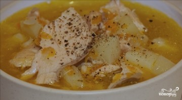 Суп из семги - фото шаг 8