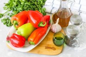 Маринованные перцы быстрого приготовления с маслом - фото шаг 1