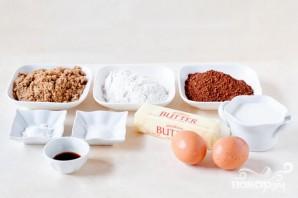 Печенье с зефирной начинкой и шоколадной глазурью - фото шаг 1
