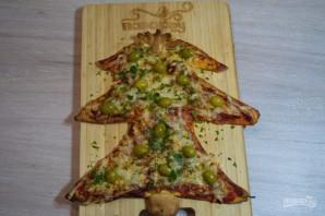 Пицца на Новый год - фото шаг 5