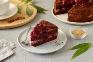 Постный вишневый торт - фото шаг 16