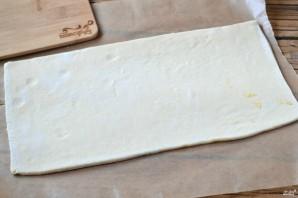 Пирог из слоеного теста с сыром - фото шаг 3