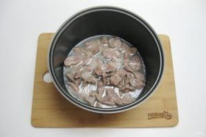 Желудки с картофелем в мультиварке - фото шаг 3