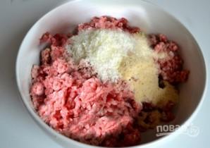 Тефтельки из говяжьего фарша с сыром в томатном соусе - фото шаг 3