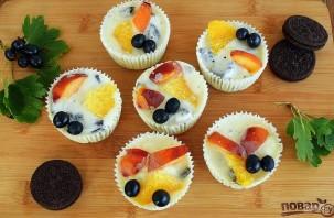 """Пирожные """"Орео"""" под йогуртом - фото шаг 3"""