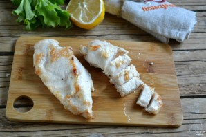 Салат из филе индейки - фото шаг 5