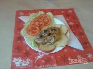 Куриное филе с яблоками и черносливом - фото шаг 12
