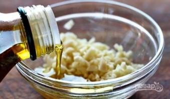 Сырный хлеб с маслинами - фото шаг 2