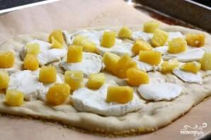 Пицца с ананасами - фото шаг 5