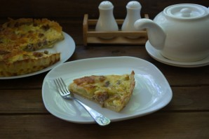 Пирог с курицей и цукини - фото шаг 7
