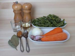 Корейский салат с зеленой фасолью - фото шаг 1