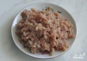 Яичные блинчики с мясом - фото шаг 1