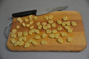 Куриный суп с чесночными галушками - фото шаг 9