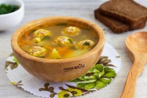 Куриный суп с сырными фрикадельками - фото шаг 9