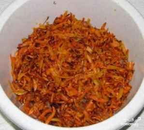 Салат с фасолью и грибами - фото шаг 5