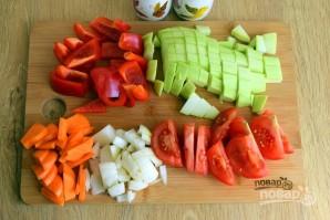 Кабачковая икра с морковью и луком - фото шаг 2