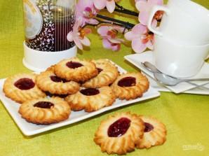 Песочное печенье с конфитюром - фото шаг 5