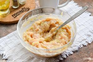 Куриные котлеты с кабачком в сливочном соусе - фото шаг 6
