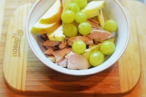 Полезный куриный салат - фото шаг 5