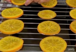 Апельсиновые дольки в шоколаде - фото шаг 3