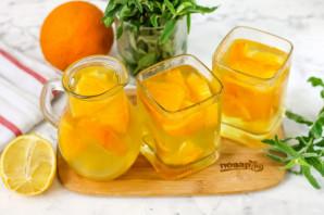 Компот из апельсина и лимона - фото шаг 7