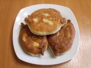 Пирожки с вишней жареные - фото шаг 12