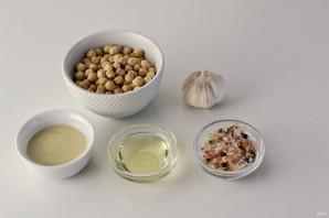 Сыроедческий хумус - фото шаг 1