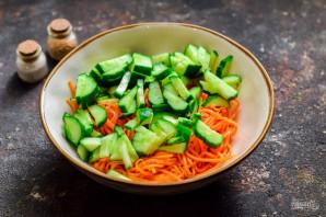 """Салат """"Муравейник"""" с корейской морковью - фото шаг 3"""