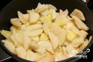 Жареная картошка с грибами - фото шаг 4