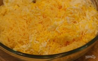 Томаты с сыром и зеленью - фото шаг 2